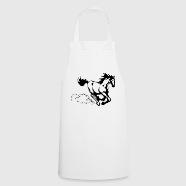 Gallop Galloping horse - Cooking Apron