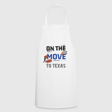 En route pour Texas Moving State & House Gift - Tablier de cuisine