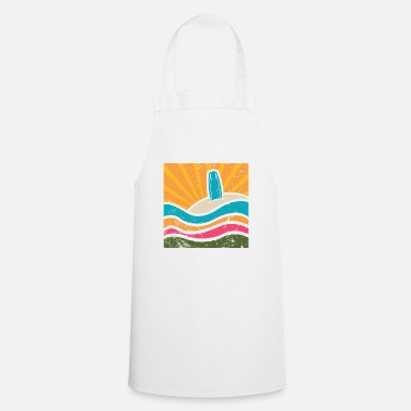 Sand Surfboard in the sand - Cooking Apron