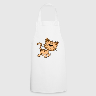 Leo gutter cat - Cooking Apron