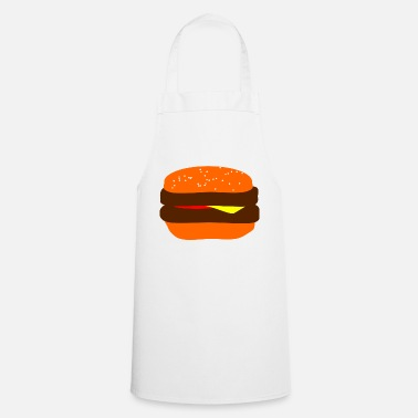 Burger Burger! Burger! Burger! Burger! Burger! Delicious - Cooking Apron
