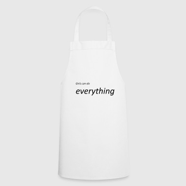 Power and power - Cooking Apron