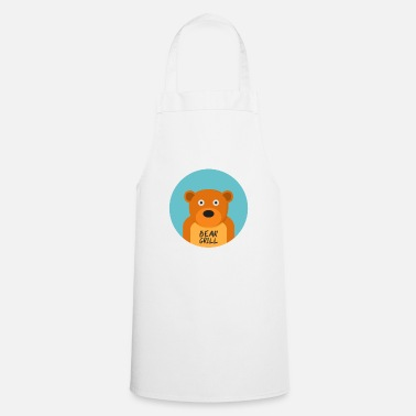 Officialbrands Bear Grill T-skjorte - Forkle