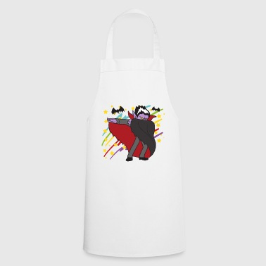 Retro Vintage Style Dabbing Dab Disco Count Dracula - Cooking Apron