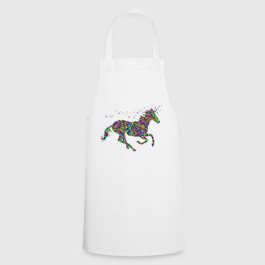 Gallop unicorn galloping - Cooking Apron