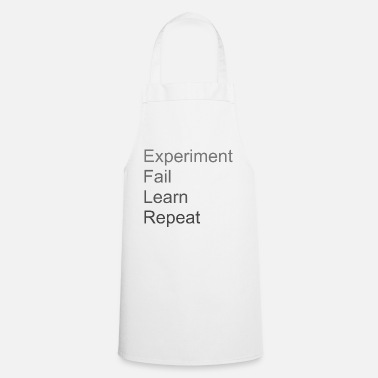 Experiment Fail Learn Repeat - Forklæde