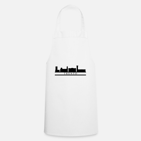 Skies Aprons - thirty skyline - Apron white