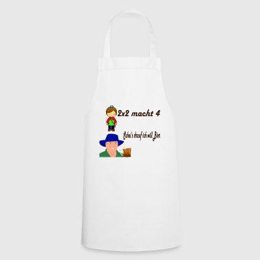 I want beer - Cooking Apron