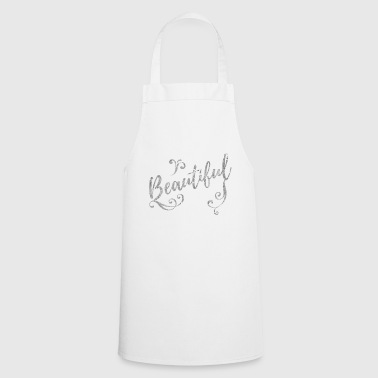 Beautiful silver - Cooking Apron