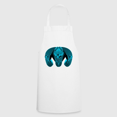 Blue Design Bouc - Cooking Apron