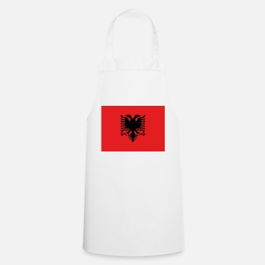 Bandera Flag of Albania - Tablier de cuisine