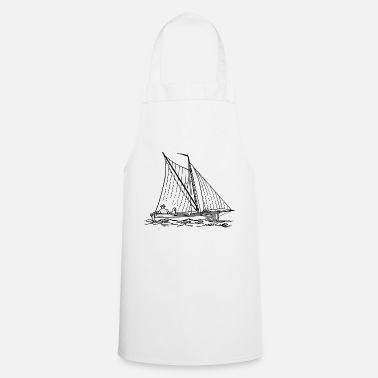 Row Boat paddle boat sail boat rowing boat sailboat58 - Cooking Apron
