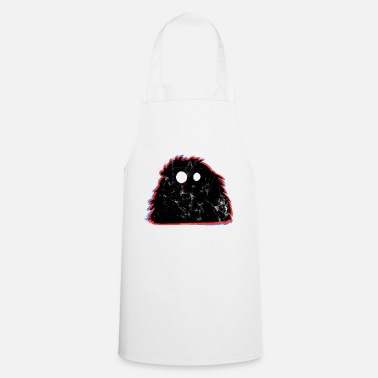 Witty Cute monster witty - Cooking Apron