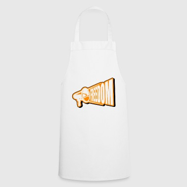 Freedom Freedom freedom - Cooking Apron