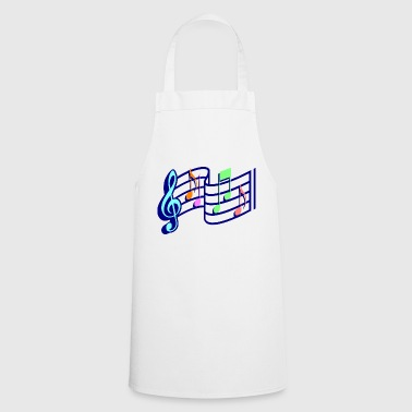 Sheet music - Cooking Apron
