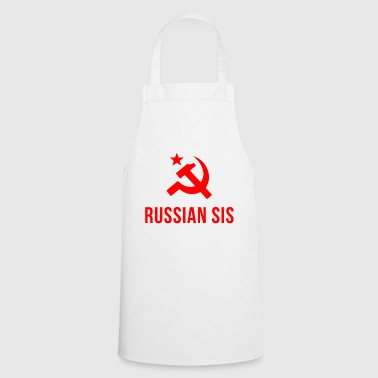 russian sis russian sister - Cooking Apron