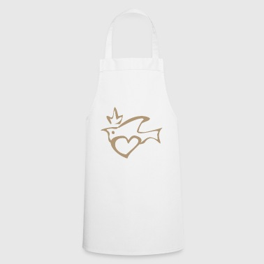 Power Symbol Peace Yoga Design Idea regalo - Grembiule da cucina