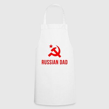 russian dad russian father - Cooking Apron