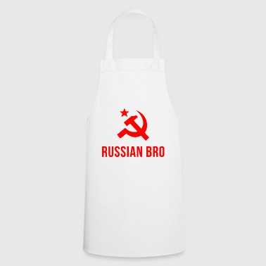 russian bro russian brother - Cooking Apron
