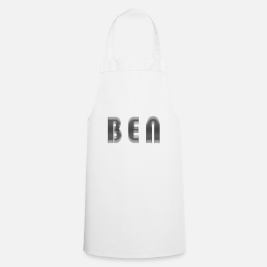 Birth Name Ben Name First Name Cool Gift Idea Birth Fun - Cooking Apron