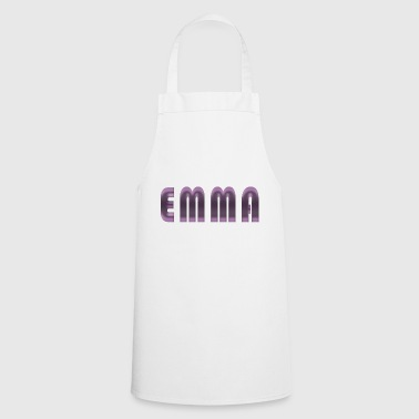 Emma name first name name day birth gift idea - Cooking Apron