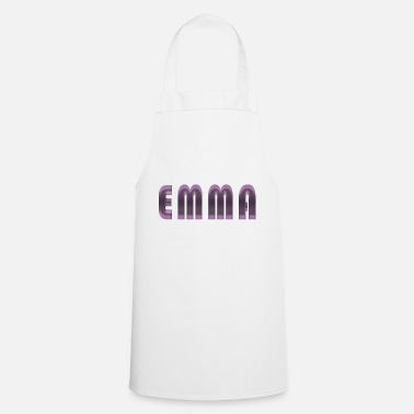 Birth Name Emma name first name name day birth gift idea - Cooking Apron