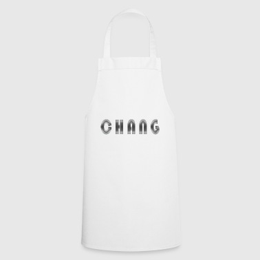 First name Chang Name Name day Birth Gift idea - Cooking Apron
