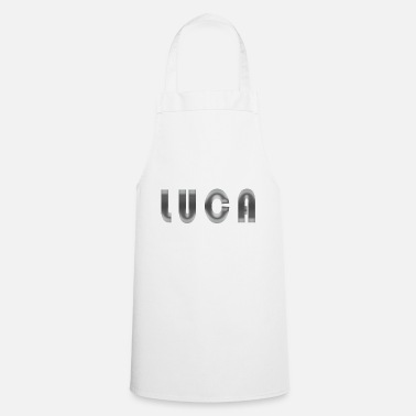 Birth Name Luca name first name name day gift idea birth - Cooking Apron