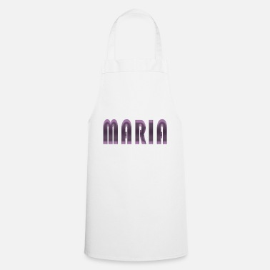 Birth Name Maria name first name name day birth gift idea - Cooking Apron