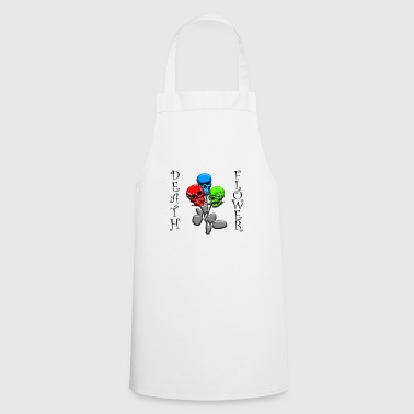 DEATH FLOWER - Cooking Apron