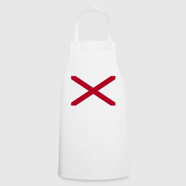 Alabama flag - Cooking Apron