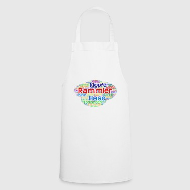 Word Art Word Art Bunny - Cooking Apron