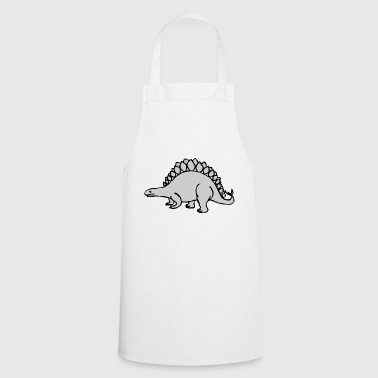Grey Grey Dinosaur - Cooking Apron