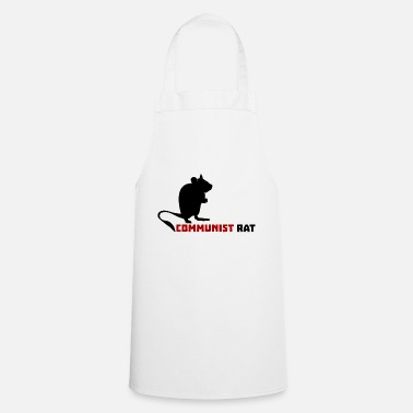 Communistes Rat communiste - Tablier de cuisine