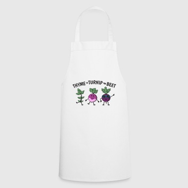 Thyme To Turnip The Beet Gift - Cooking Apron