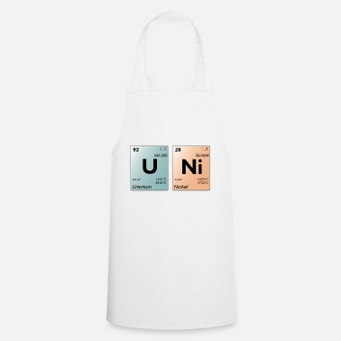 Periodic Table UNI periodic table - Cooking Apron