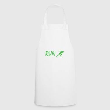 Run Running Jogging Sprint - Fartuch kuchenny