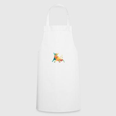 Bull Graphic Mandala Style Gift - Cooking Apron