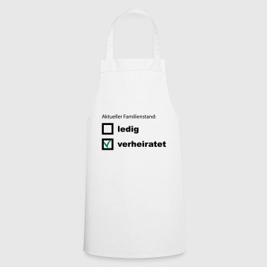 Bachelorette Married wedding bachelorette party gift - Cooking Apron