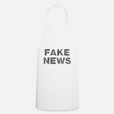 Fake FAKE NEWS - Tablier de cuisine
