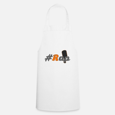 Rap #Rap - Cooking Apron