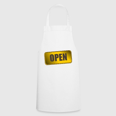 OPEN - Cooking Apron