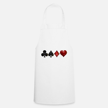 Pik Cross pik check heart - Cooking Apron