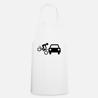 Streaker motorcyclist - Cooking Apron