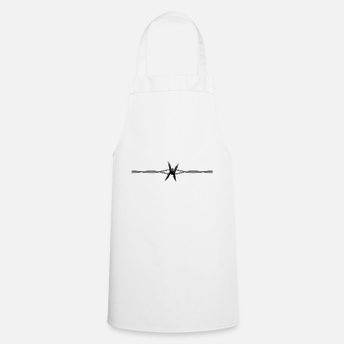Barbed-wire Barbed Wire - Cooking Apron