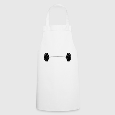 dumbbell - Cooking Apron
