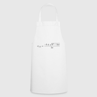 Quadratic formula - Cooking Apron