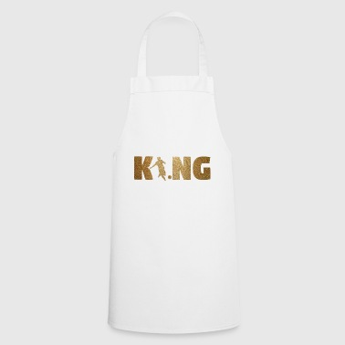 Soccer Ball KING Soccer! Soccer! Ball! Present! - Cooking Apron