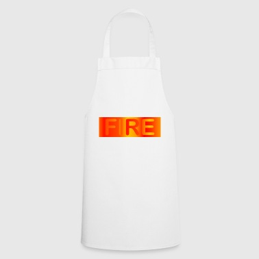 Fire / fire - Cooking Apron