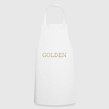gold golden sweet gold gold gold heart - Cooking Apron